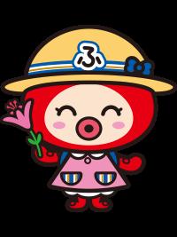 サツキ持ってる(リュック+帽子)