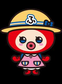 基本ポーズ正面(帽子+リュック)